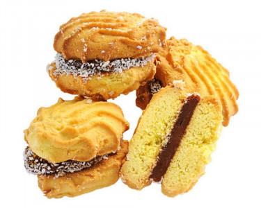 Печенье Ракушка со сгущенкой